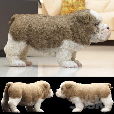 مدل سه بعدی سگ پاکوتا