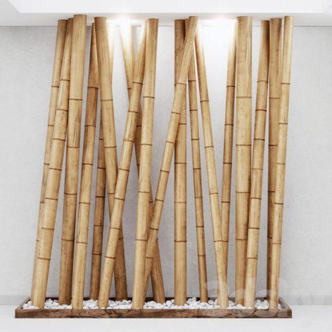 مدل سه بعدی بامبو