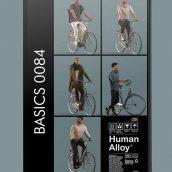 مدل سه بعدی مجموعه انسان 084