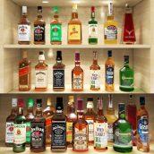 مدل سه بعدی مشروبات الکلی سری سوم