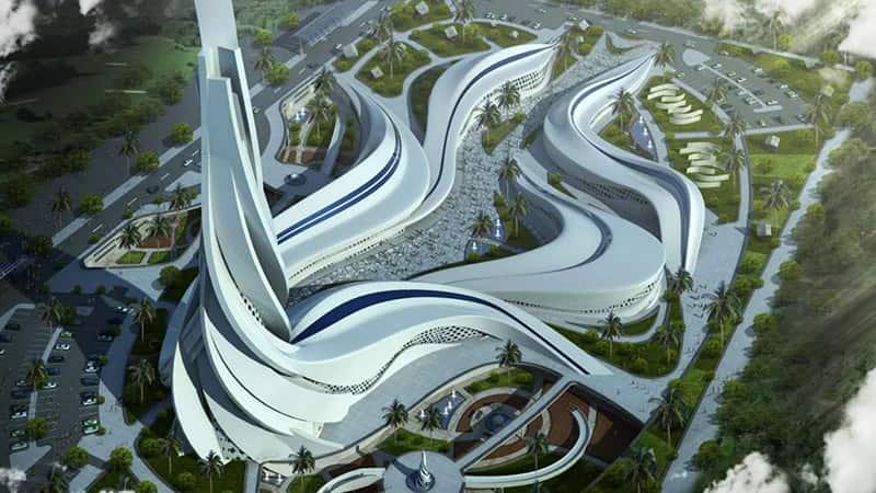 بنای ساختمان براساس معماری مدرن