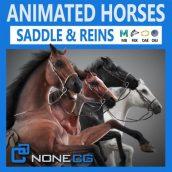 دانلود آبجکت اسب انیمیت شده