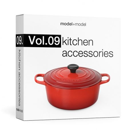 دانلود مدل سه بعدی آشپزخانه ولوم یک