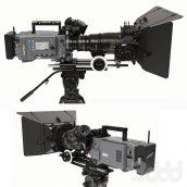 دانلود مدل سه بعدی دوربین فیلم برداری سری اول