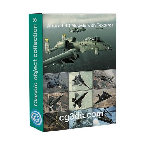 دانلود مجموعه مدل سه بعدی هواپیما و هلیکوپتر جنگی سری اول