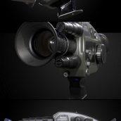دانلود آبجکت سه بعدی دوربین فیلم برداری