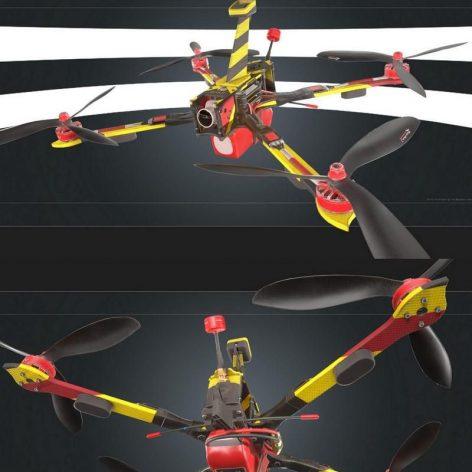 دانلود مدل سه بعدی هواپیمای بدون سرنشین