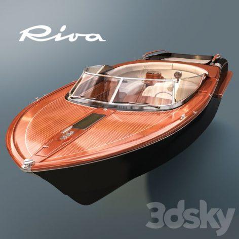 دانلود مدل سه بعدی قایق تندرو
