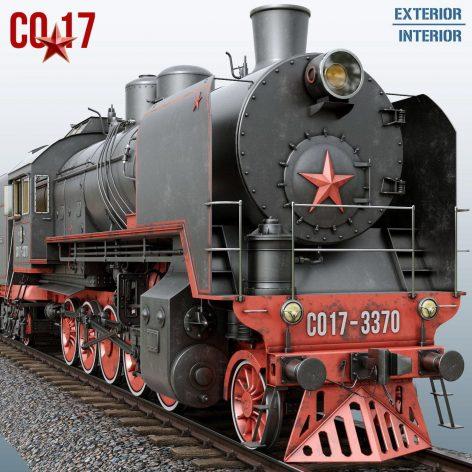 دانلود مدل سه بعدی قطار قدیمی