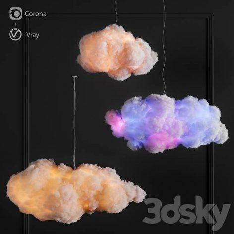 دانلود مدل سه بعدی ابرهای نخی نوری