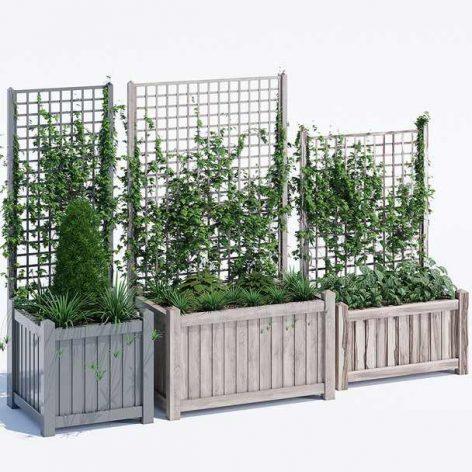 دانلود آبجکت باکس گیاه مربع