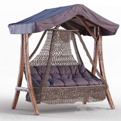 دانلود مدل سه بعدی صندلی باغچه