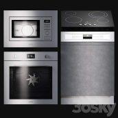 دانلود مجموعه مدل سه بعدی آشپزخانه
