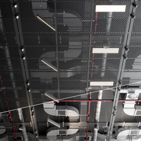 دانلود مدل سه بعدی سقف صنعتی