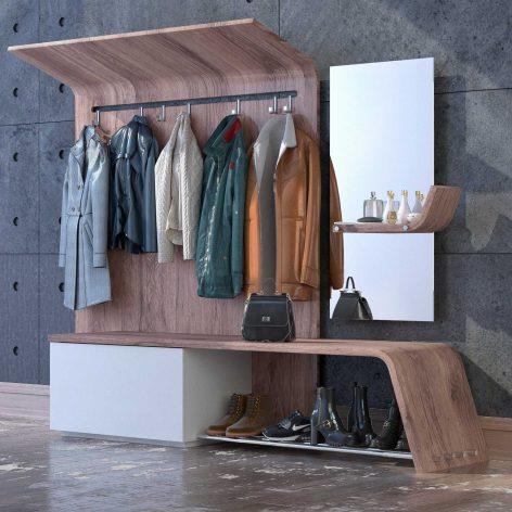 دانلود مدل سه بعدی رخت آویز مدرن