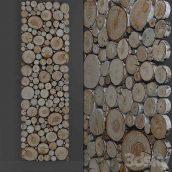 دانلود مدل سه بعدی پنل تکه چوبی