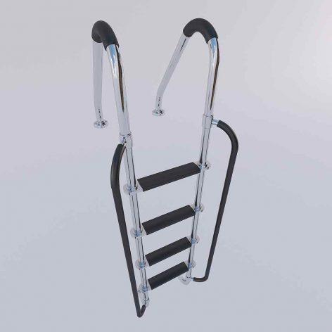 دانلود مدل سه بعدی پله استخر