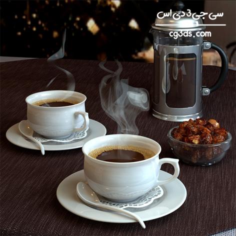 مدل سه بعدی دستگاه قهوه ساز