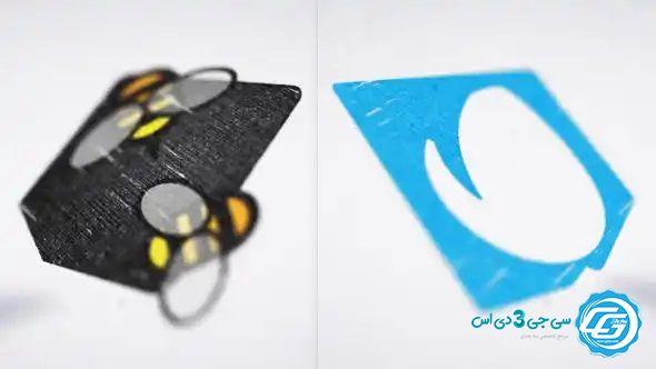 پروژه افترافکت لوگو موشن طراحی با مداد
