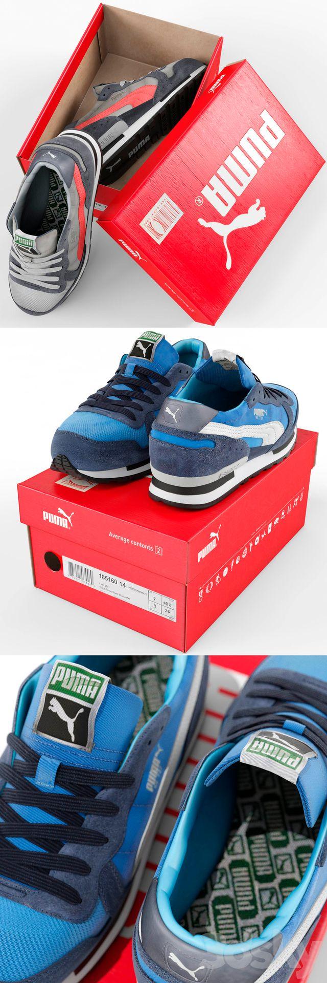 مدل سه بعدی کفش اسپورت پوما